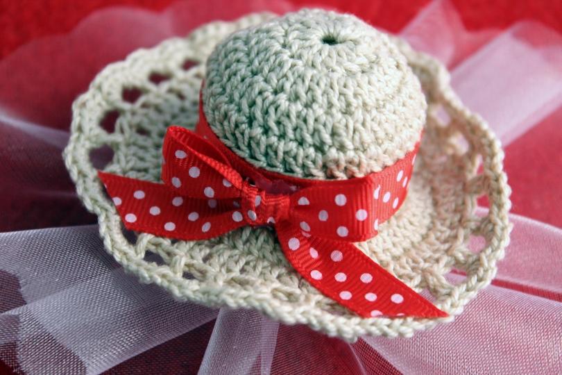 Bomboniera Crochet Cappellino
