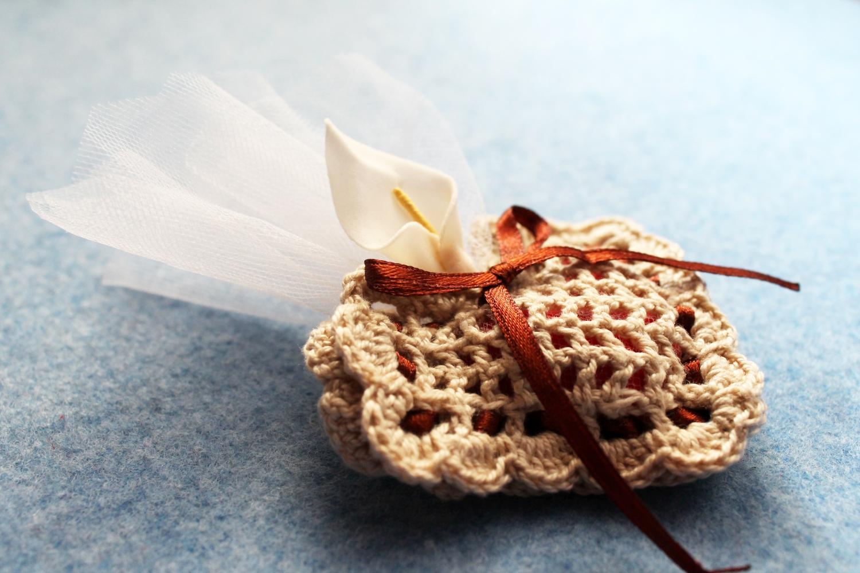 Bomboniera Crochet Cuore